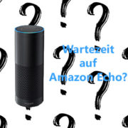 Amazon Echo auf Lager