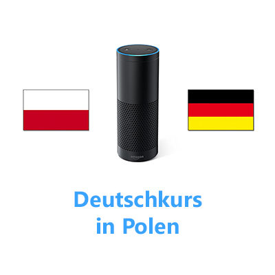 Amazon Echo Deutschkurs in Polen klein