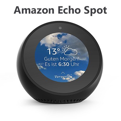amazon echo spot sprachassistenten news. Black Bedroom Furniture Sets. Home Design Ideas
