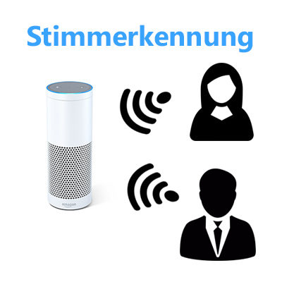 Amazon Alexa Stimmerkennung